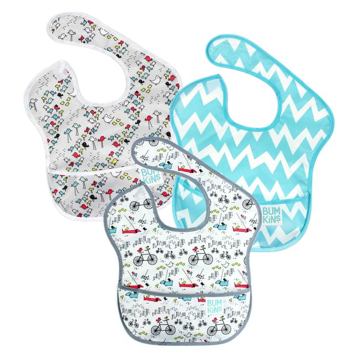 Quirks Marketing Philippines - Bumkins Set of 3 Bibs
