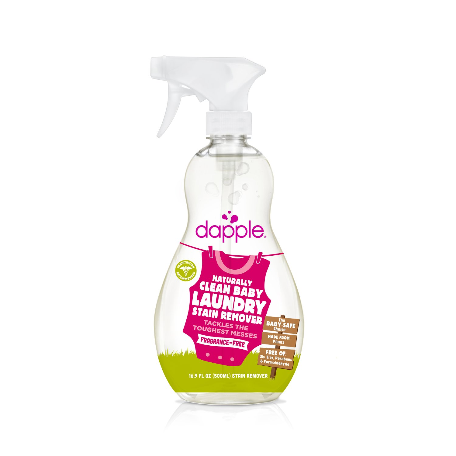Quirks Marketing Philippines - Dapple - Naturally Clean Baby Laundry Spray