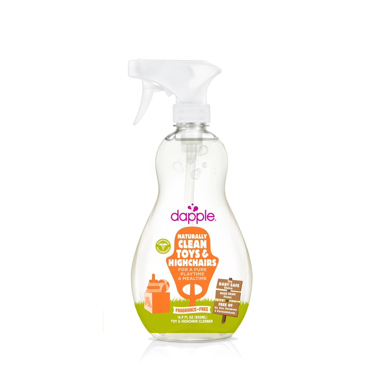 Quirks Marketing Philippines - Dapple - Naturally Clean Toys and High Chair Spray