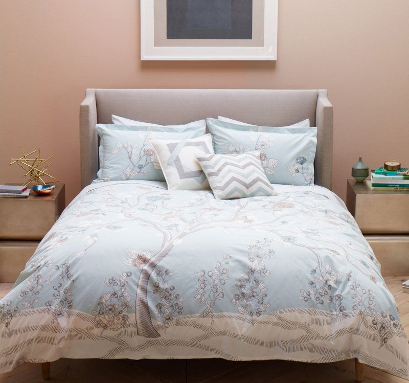 Quirks Marketing Philippines - DwellStudio - Jardin Mist Duvet Set