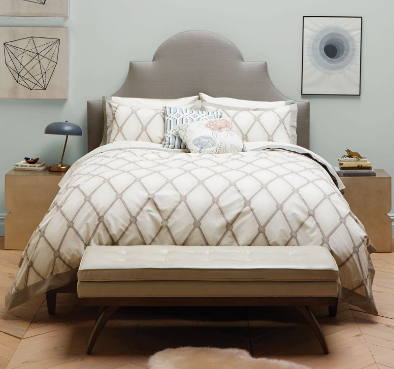 Quirks Marketing Philippines - DwellStudio - Hadley Cloud Duvet Set