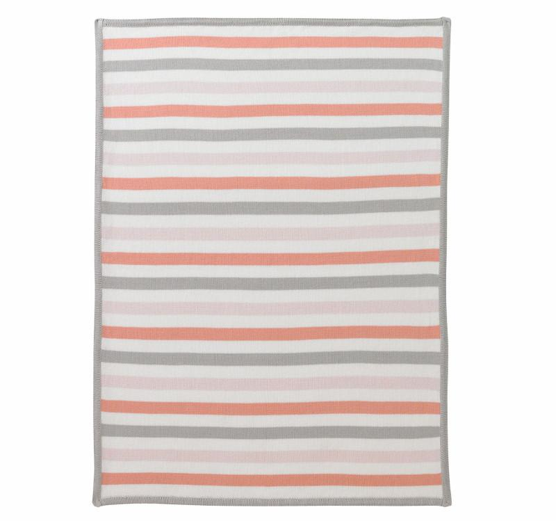 Quirks Marketing Philippines - DwellStudio Baby - Graphic Knit Blanket - Multi Stripes Blossom