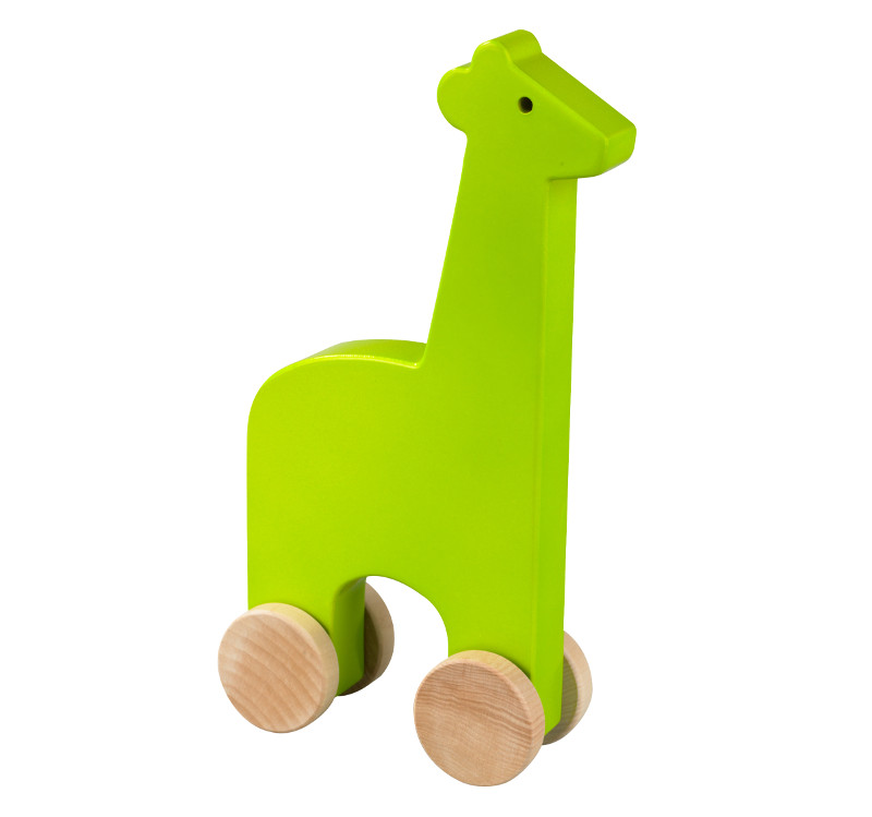 Quirks Marketing Philippines - DwellStudio Baby - Push Toy Giraffe