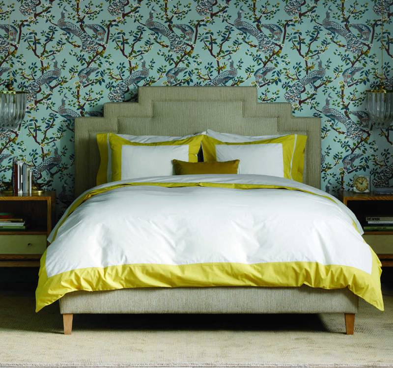 Quirks Marketing Philippines - DwellStudio - Modern Border Citrine Duvet Set