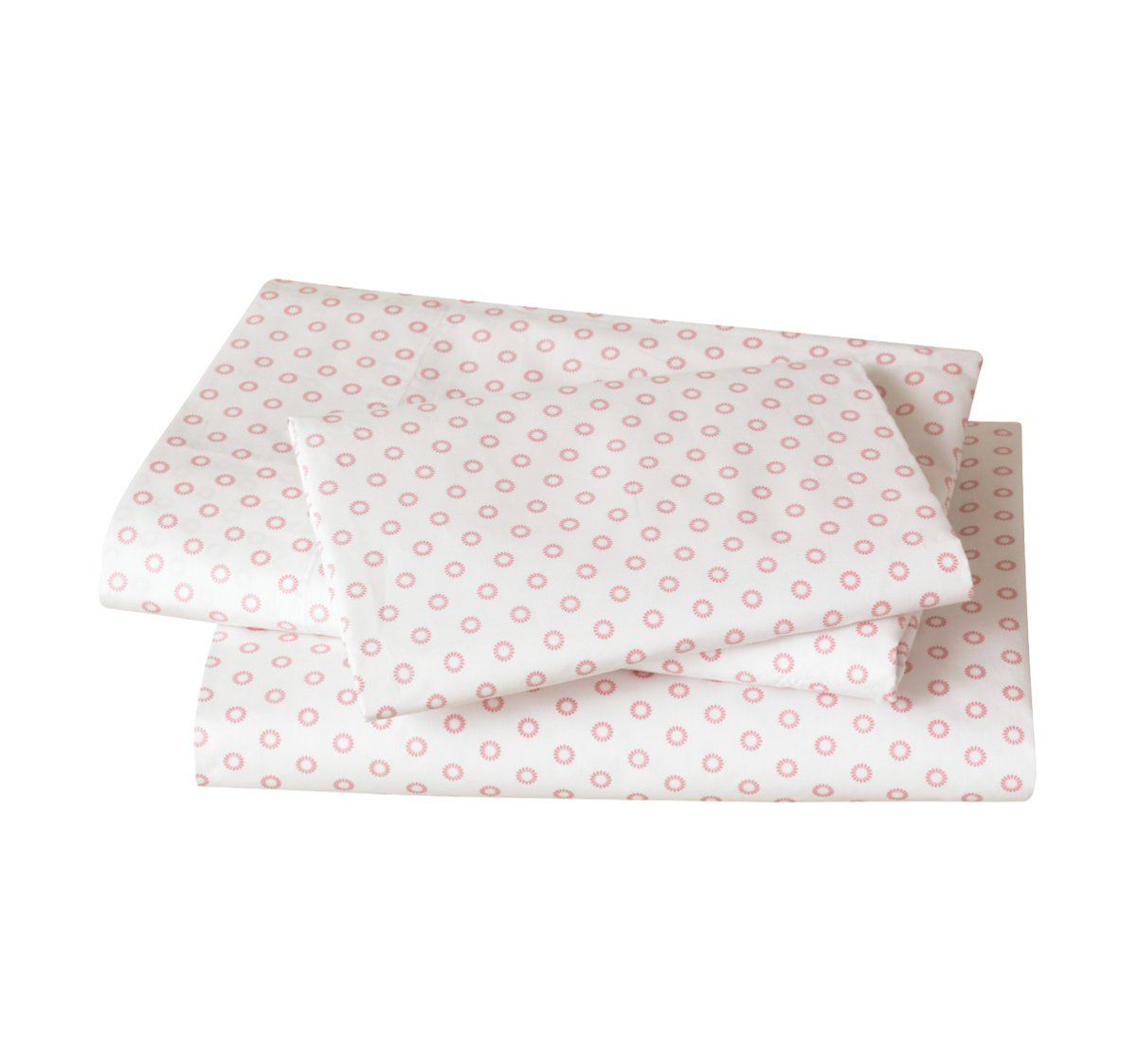 Quirks Marketing Philippines - DwellStudio - Floral Dot Pale Rose Sheet Set
