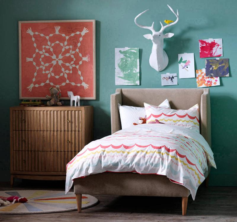 Quirks Marketing Philippines - DwellStudio - Garland Multi Twin Duvet Set for Kids