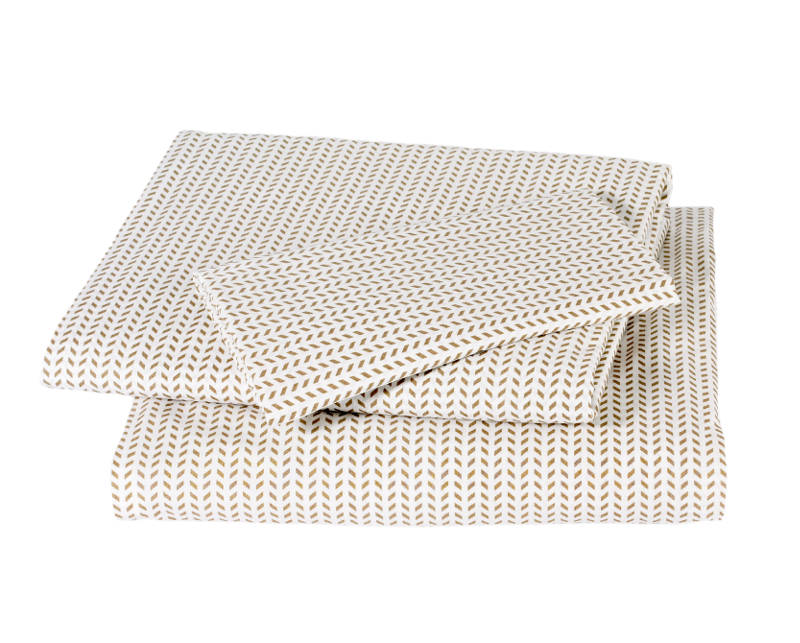Quirks Marketing Philippines - DwellStudio - Chocolate Chevron Sheet Set