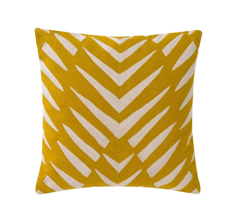 Quirks Marketing Philippines - DwellStudio - Eva Mustard Decorative Pillow