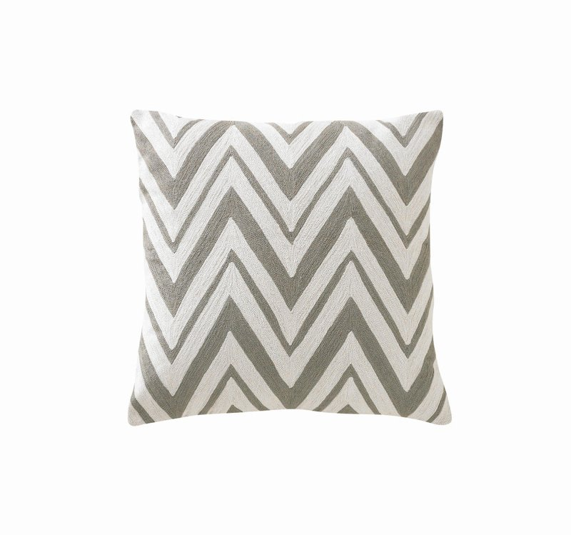 Quirks Marketing Philippines - DwellStudio - Chevron Ash Decorative Pillow