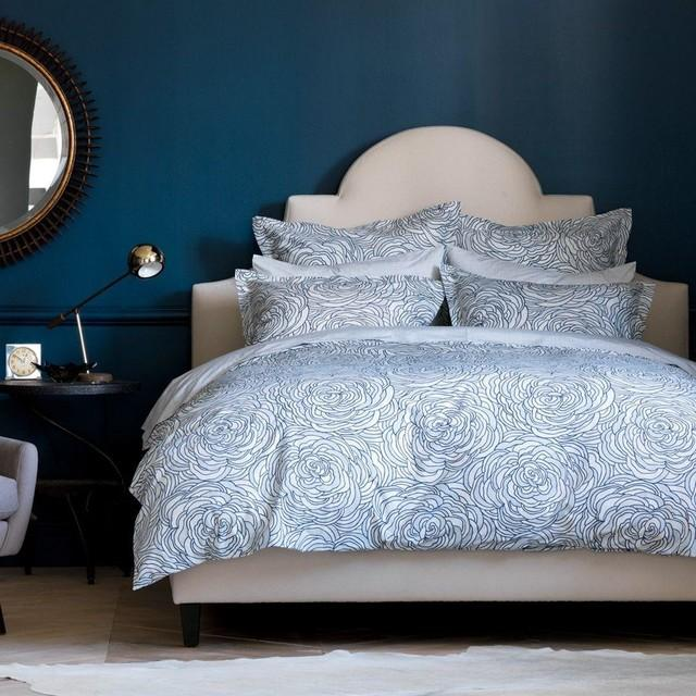 Quirks Marketing Philippines - DwellStudio - Sonia Floral Marine Duvet Set