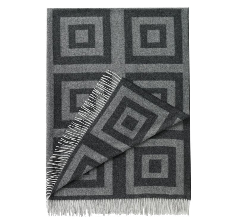 Quirks Marketing Philippines - DwellStudio - Concentric Squares Throw Ink