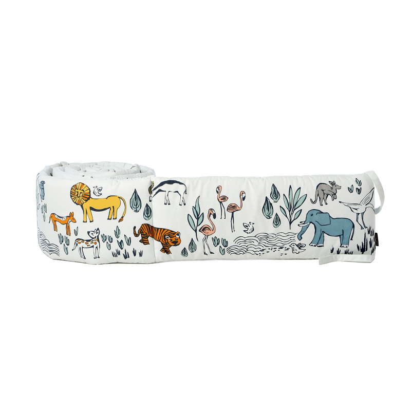 Quirks Marketing Philippines - DwellStudio Baby - Safari Crib Bumper