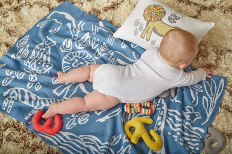 Quirks Marketing Philippines - DwellStudio Baby - Safari Knit Blanket