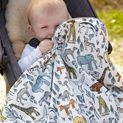 Quirks Marketing Philippines - DwellStudio Baby - Safari Stroller Blanket