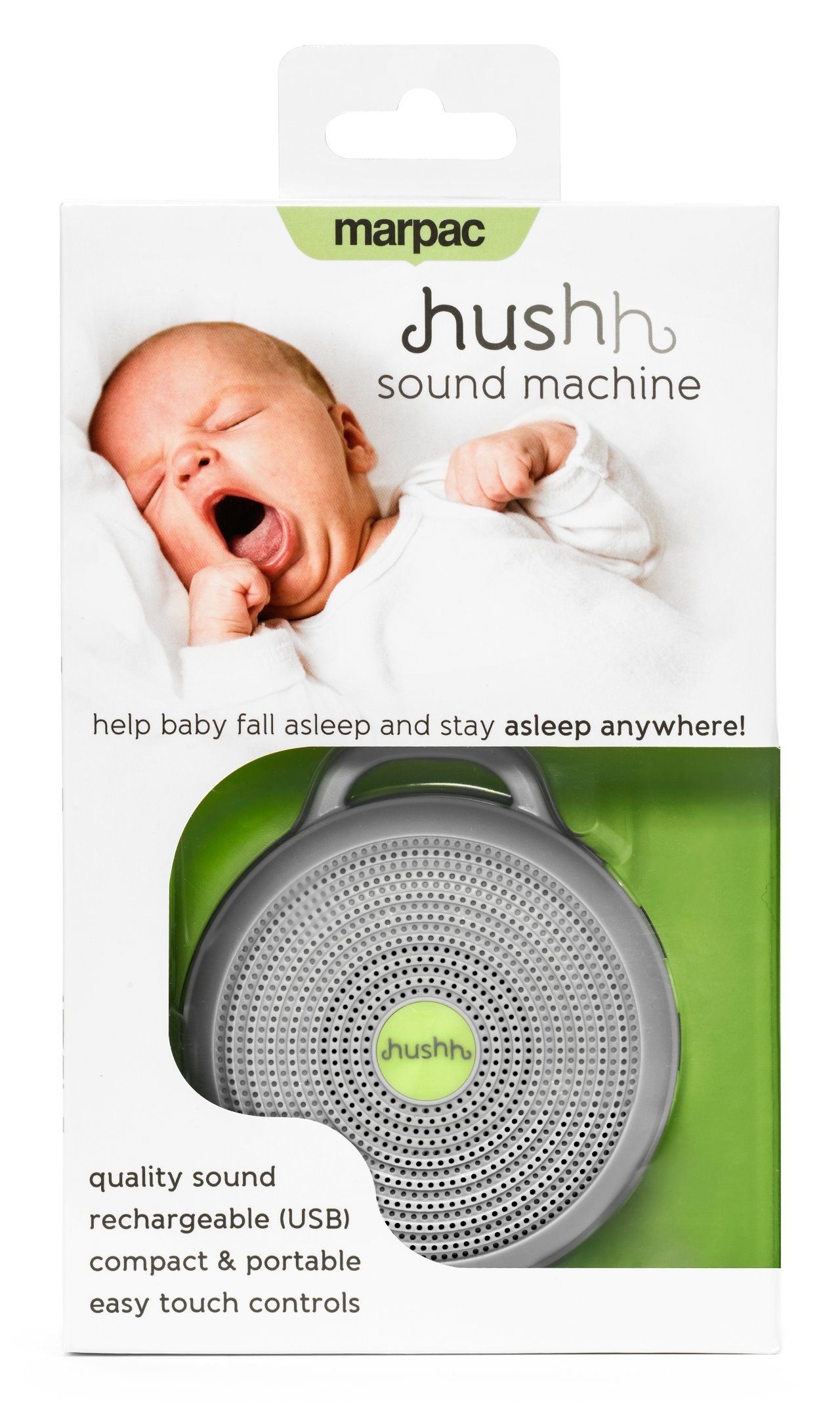 Quirks Marketing Philippines - Marpac Hushh Portable White Noise Sound Machine for Babies