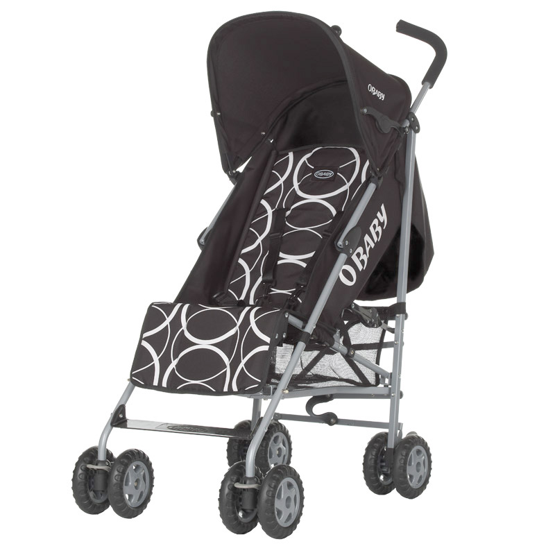 Quirks Marketing Philippines - OBaby - Atlas Circles Black Baby Stroller