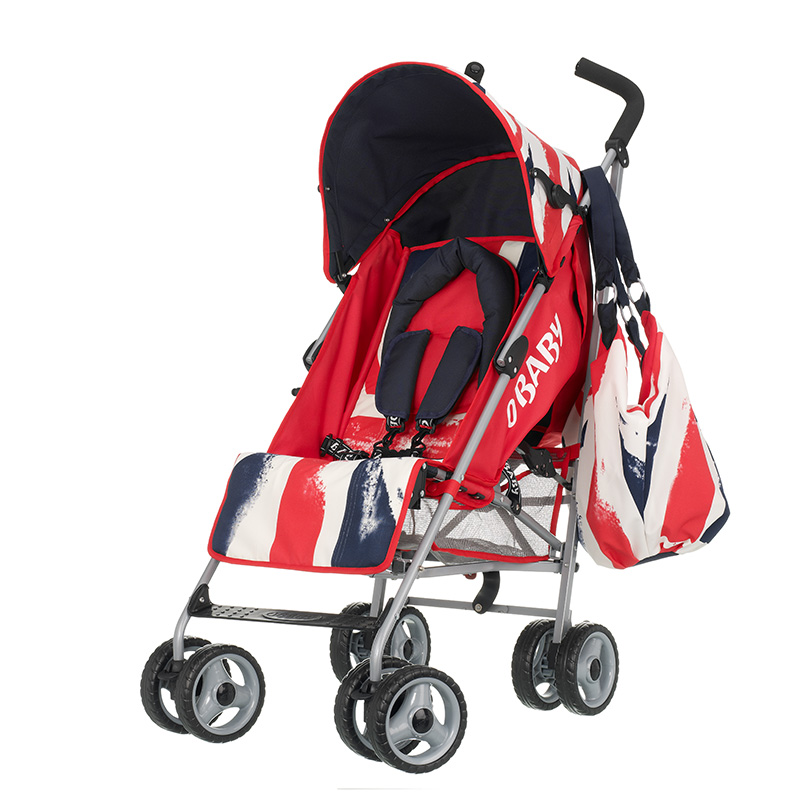 Quirks Marketing Philippines - OBaby - Vintage Union Red Baby Stroller